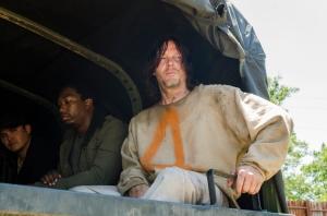 Saviors, Norman Reedus as Daryl Dixon- The Walking Dead _ Season 7, Episode 4 - Photo Credit: Gene Page/AMC
